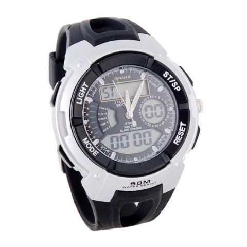 Sportovní hodinky Anike Round černé 20bb8e3a1b